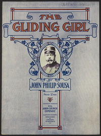 Gliding Girl [sheet music]