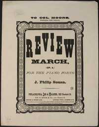 Review March [op 5] [sheet music]