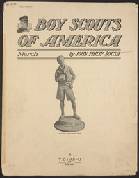 Boy Scouts of America [sheet music]