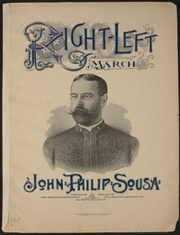 Right-Left March [sheet music]