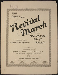 Revival March [sheet music]
