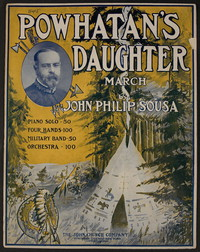 Powhatan's Daughter [sheet music]