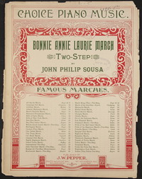 Bonnie Annie Laurie [sheet music]