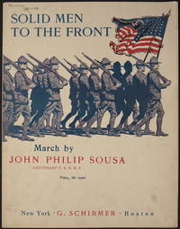 Solid Men to the Front! [sheet music]