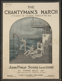 The Chantyman's March [sheet music]