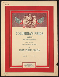 Columbia's Pride [sheet music]