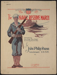 Naval Reserve [sheet music]