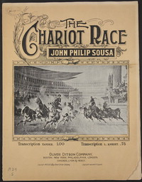 The Chariot Race [sheet music]