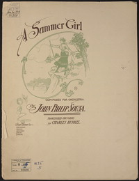 A Summer Girl [sheet music]