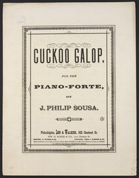 Cuckoo Galop [sheet music]