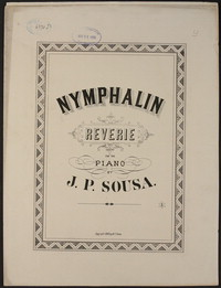 Nymphalin [sheet music]