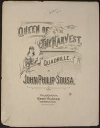 Queen of the Harvest Quadrille [sheet music]