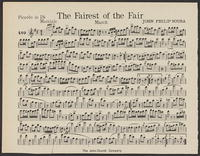 Fairest of the fair [Instrumental parts]