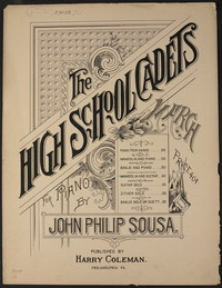 The High School Cadets [sheet music]