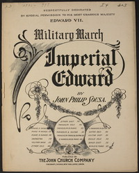 Imperial Edward [sheet music]
