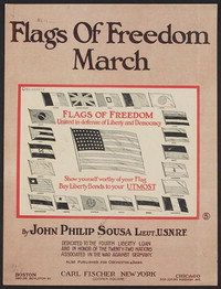 Flags of Freedom [sheet music]