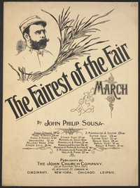 Fairest of the fair [sheet music]
