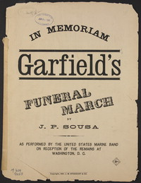 Garfield's Funeral March [sheet music]