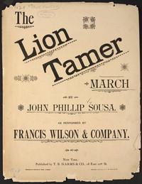 Lion Tamer [sheet music]