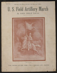 U.S. Field Artillery [sheet music]