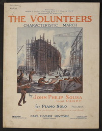 Volunteers [sheet music]