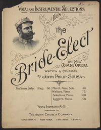 The Bride-Elect: Lancers [sheet music]