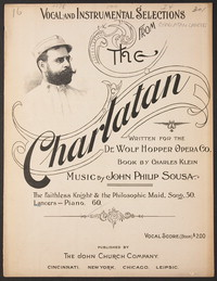 The Charlatan: Lancers [sheet music]