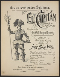 El Capitan:Lancers [sheet music]