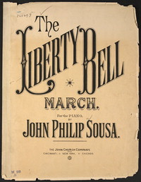 Liberty Bell [sheet music]