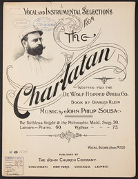 The Charlatan: Waltzes [sheet music]