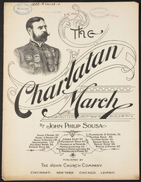 The Charlatan: March [sheet music]