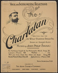 The Charlatan: Selections [sheet music]