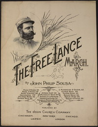 The Free Lance March [sheet music]
