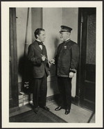 Charlie Chaplin and Sousa [photograph]