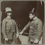 "Eddie Wardell & Abe Levy in an ""artistic"" [photograph]"