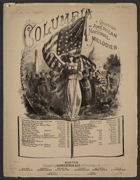 Star-spangled banner [sheet music]