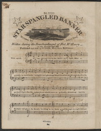 Star spangled banner [sheet music]