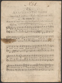 The Anacreontic song [sheet music]