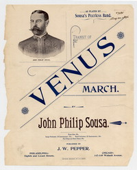 Transit of Venus [sheet music]