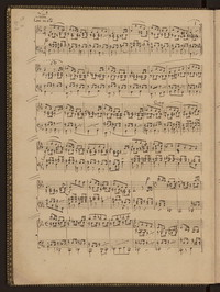 Image: Page from Lieder ohne Worte  manuscript