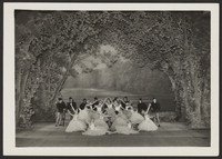 Photograph of Swan Lake (later Ballet Russes Company), n.d., Raoul Barba, Monte-Carlo.