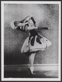 Photograph of Alexandra Danilova in Le Bal, 1929, no photographer.