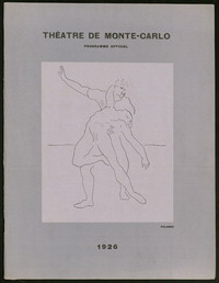 Les Ballets Russes a Paris, Mai 1917 [Souvenir Program] [concert program].