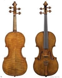 "Image: Guarneri ""Baron-Vitta"" violin"
