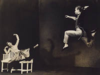 Martha Graham and Merce Cunningham in Letter to the World / Barbara Morgan [photograph]