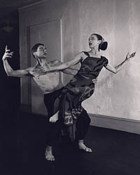 Martha Graham in Dark meadow [photograph]