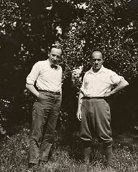 Image: Carl Engel and Ernest Bloch