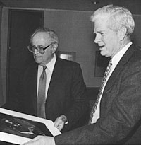 Image: William Gottlieb and Dr. James H. Billington