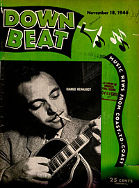 Image: Cover of Down Beat magazine