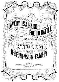 Sheet Music: Slavery is a Hard Foe to Battle